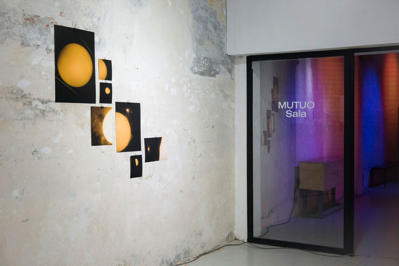 blinded by the light mutuo exhibition view