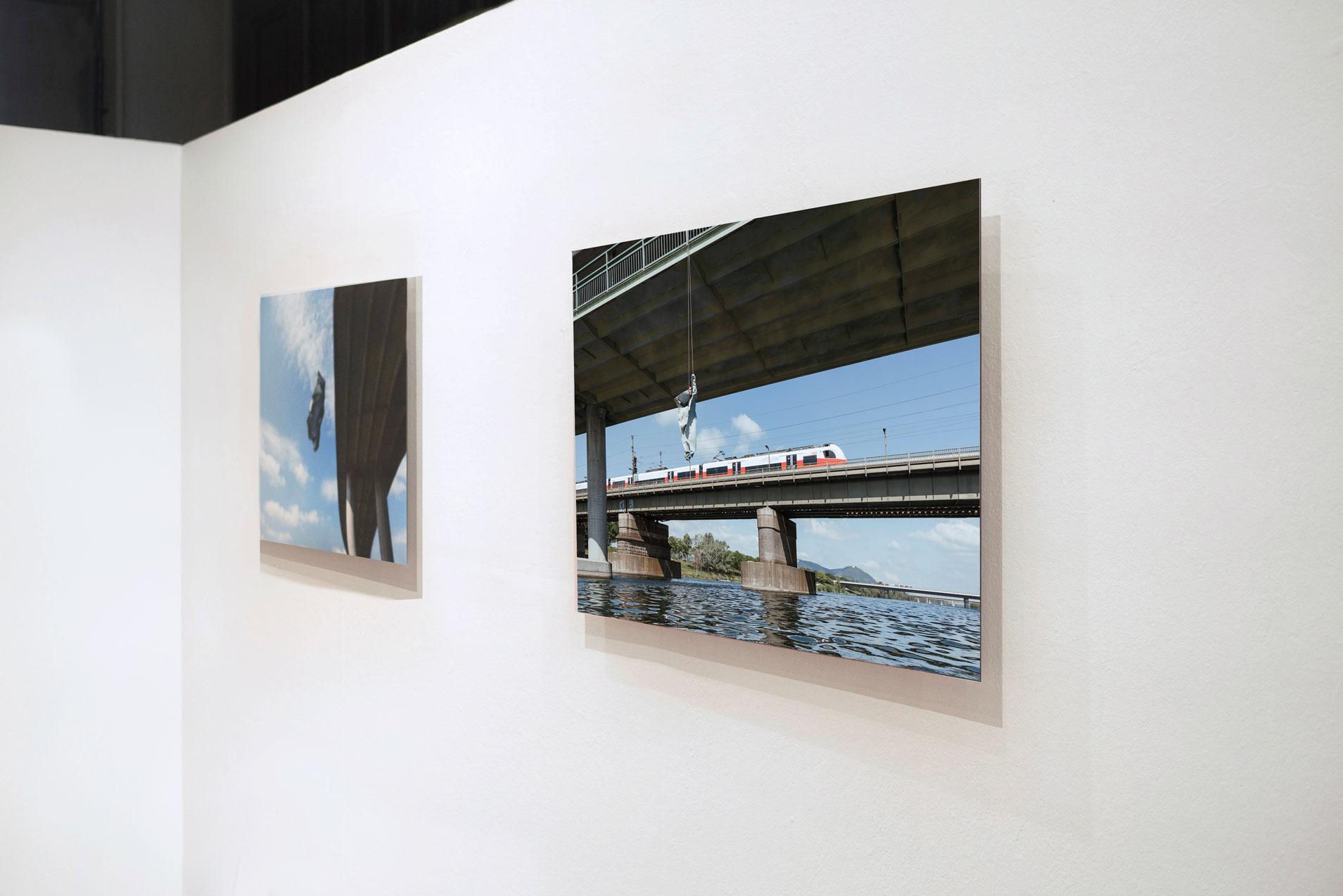 bridge performance exposure installation view