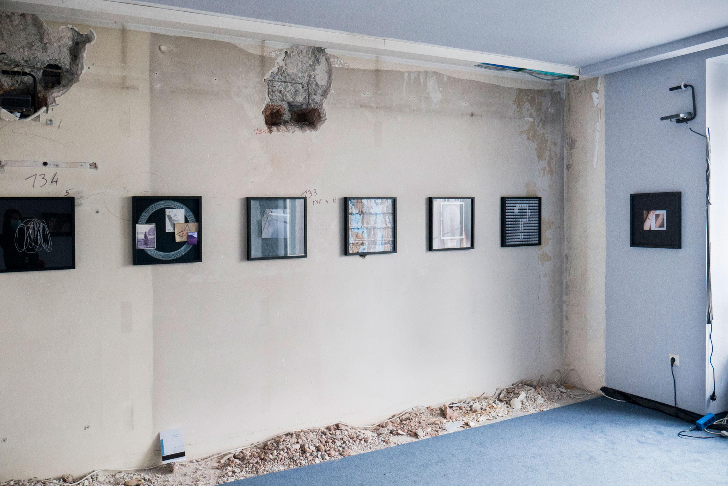 exhibition view Parallel Vienna