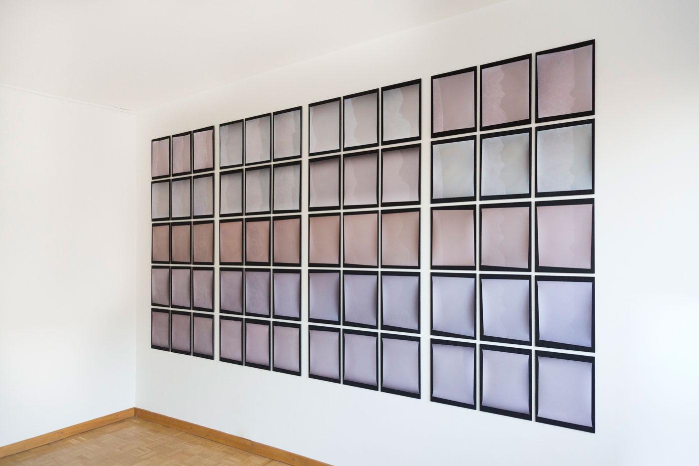 shadow exposures wall installation