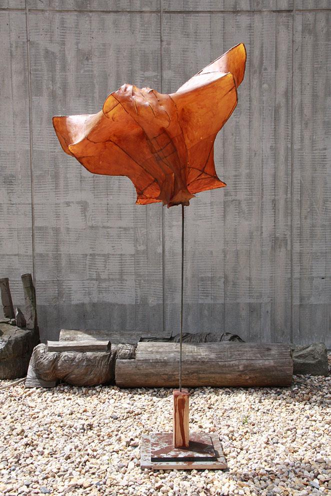 skulptur vogel